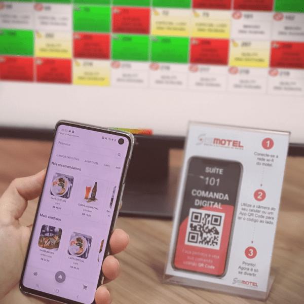 Comanda Digital QR Code Motel